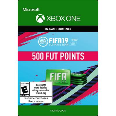 FIFA 19 500 Ultimate Team Points Digital Card