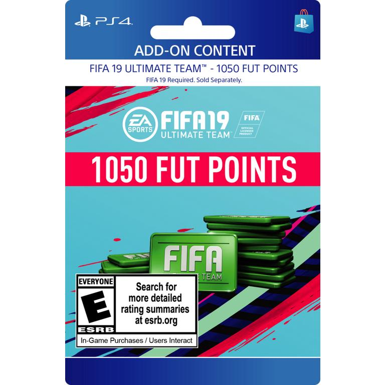 FIFA 19 1,050 Ultimate Team Points