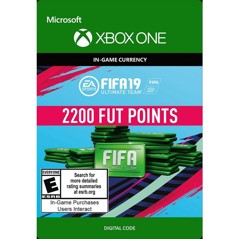 FIFA 19 2200 Ultimate Team Points Digital Card