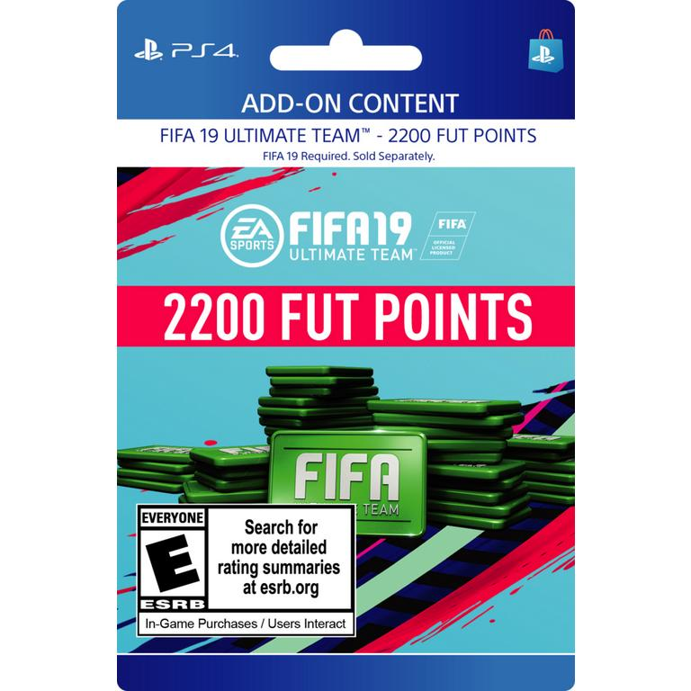FIFA 19 2,200 Ultimate Team Points