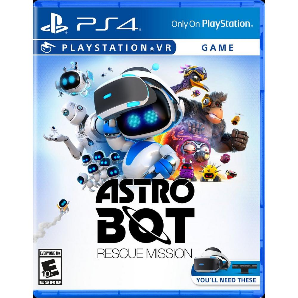 Astro Bot Rescue Mission PSVR | PlayStation 4 | GameStop