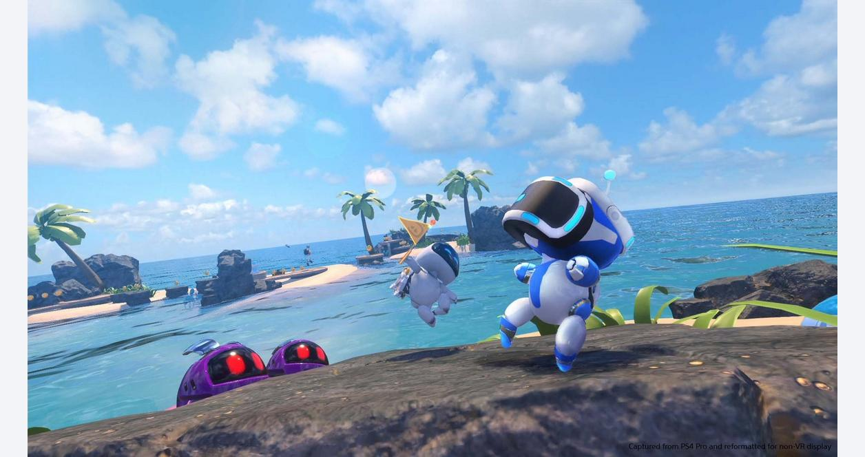 Astro Bot Rescue Mission PSVR