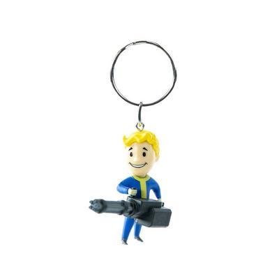 Fallout Vault Boy Big Guns Keychain