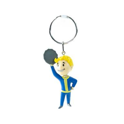Fallout Vault Boy Barter Keychain