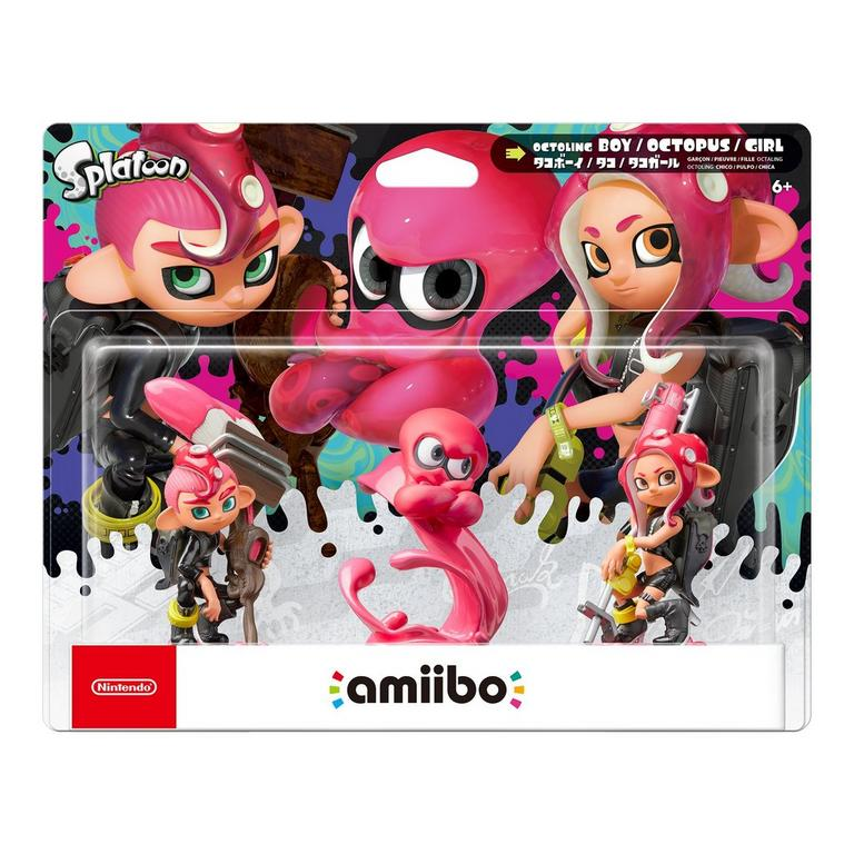 Splatoon Octolings amiibo Figure 3 Pack