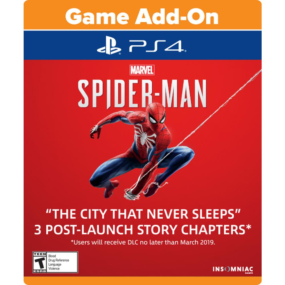 Marvel's Spider-Man: The City That Never Sleeps Season Pass | PlayStation 4  | GameStop