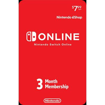 Nintendo Switch Online 3-Month Individual Membership