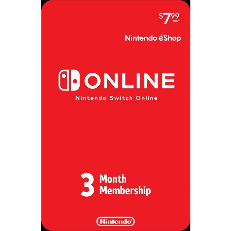 Nintendo Switch Online 3-Month Individual Membership