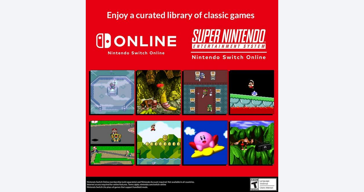 Nintendo Switch Online 3 Month Individual Membership