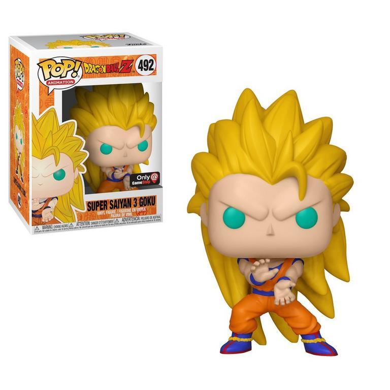 POP! Anime: Dragon Ball Z - Super Saiyan 3 Goku - Only at GameStop