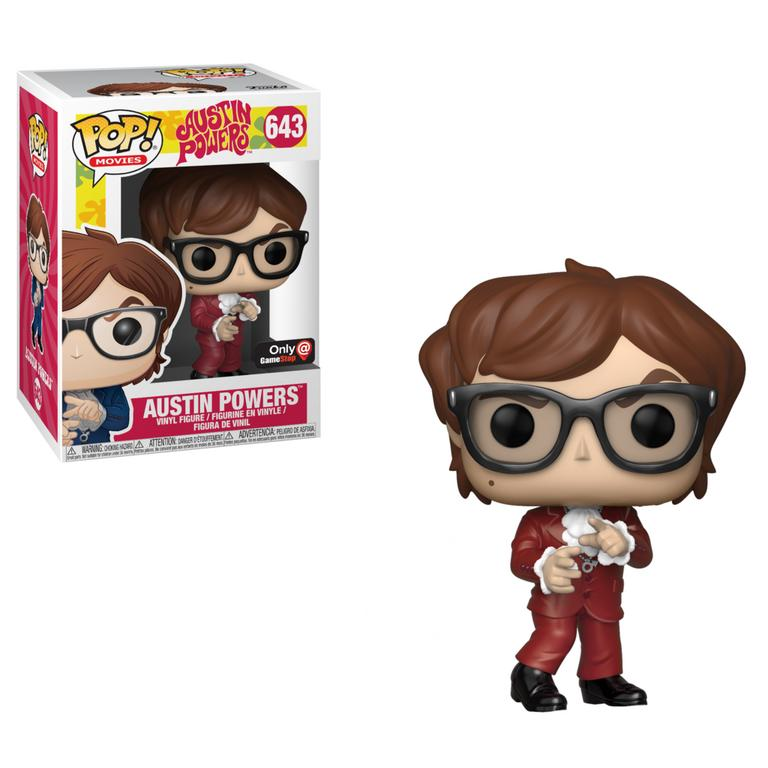Funko POP! Movies: Austin Powers Red Suit Only at GameStop