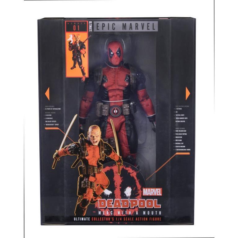 Marvel Classics Ultimate Deadpool Action Figure
