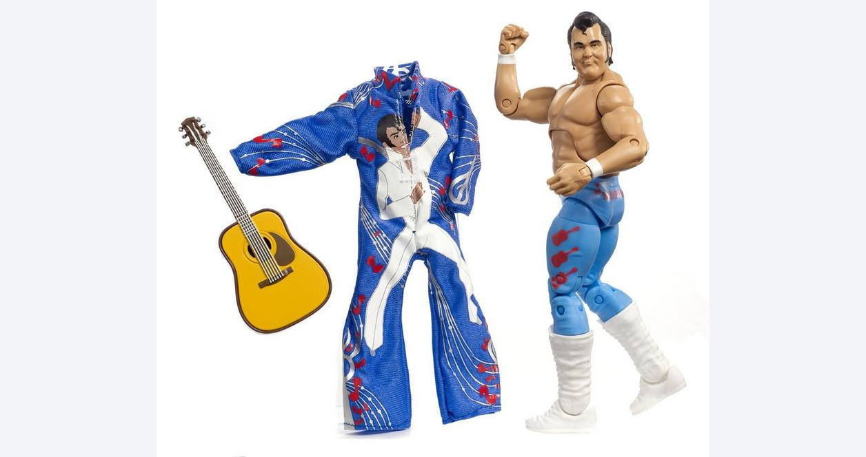 WWE The Honky Tonk Man Elite Collection Action Figure Only at Gamestop