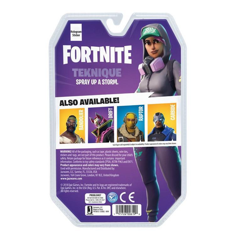 Fortnite Teknique Solo Mode Figure