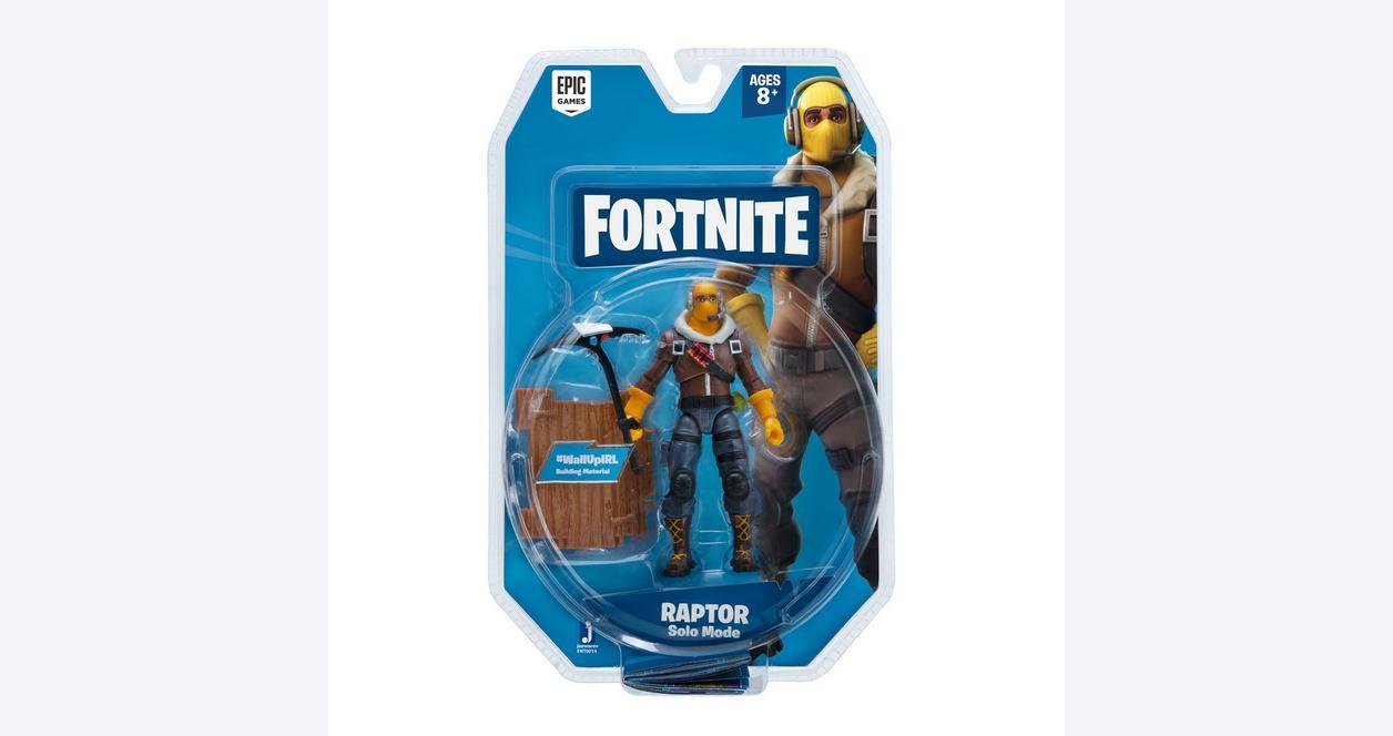 Fortnite Raptor Solo Mode Action Figure