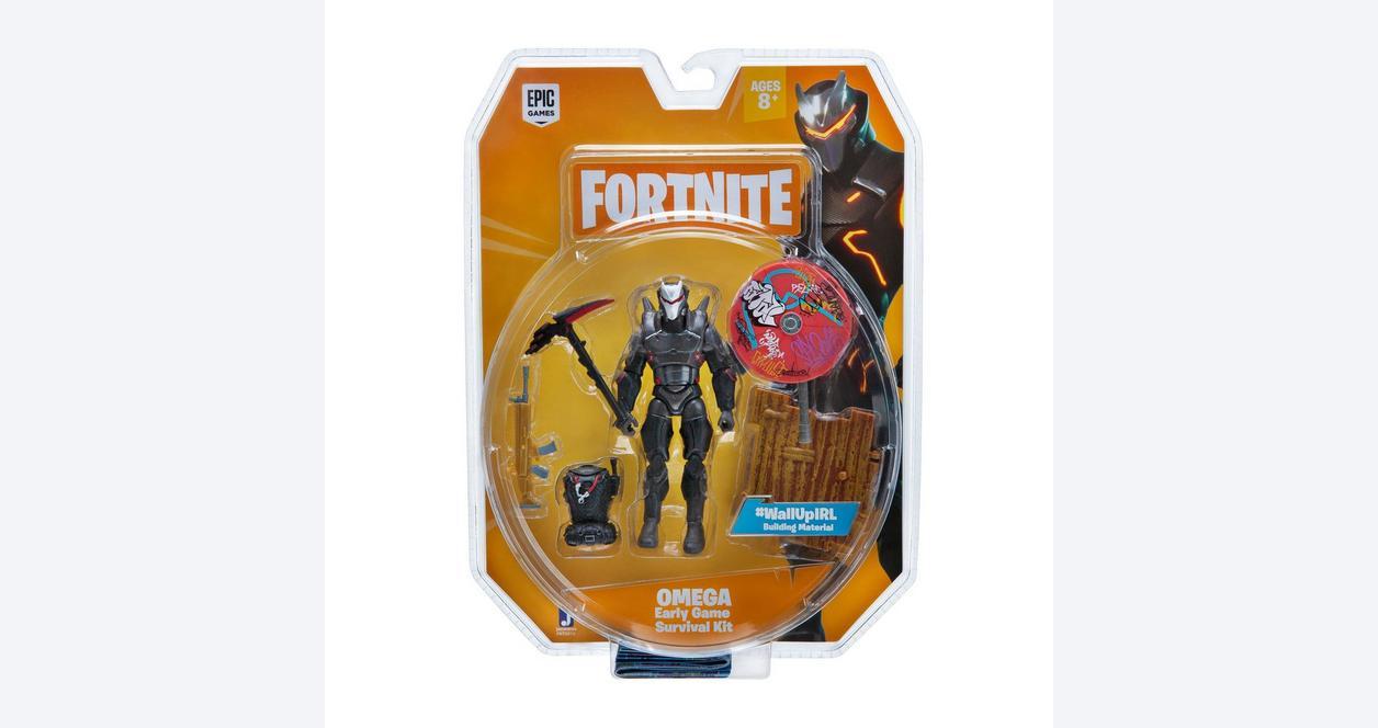 Fortnite Omega Early Game Survival Kit Figure