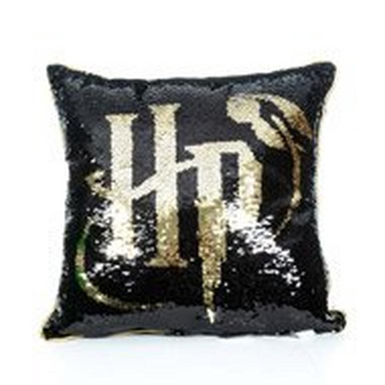 Harry Potter Sequin Pillow