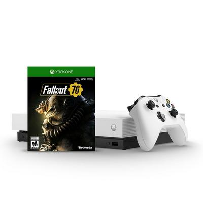 Xbox One X 1TB Fallout 76 Bundle Only at GameStop
