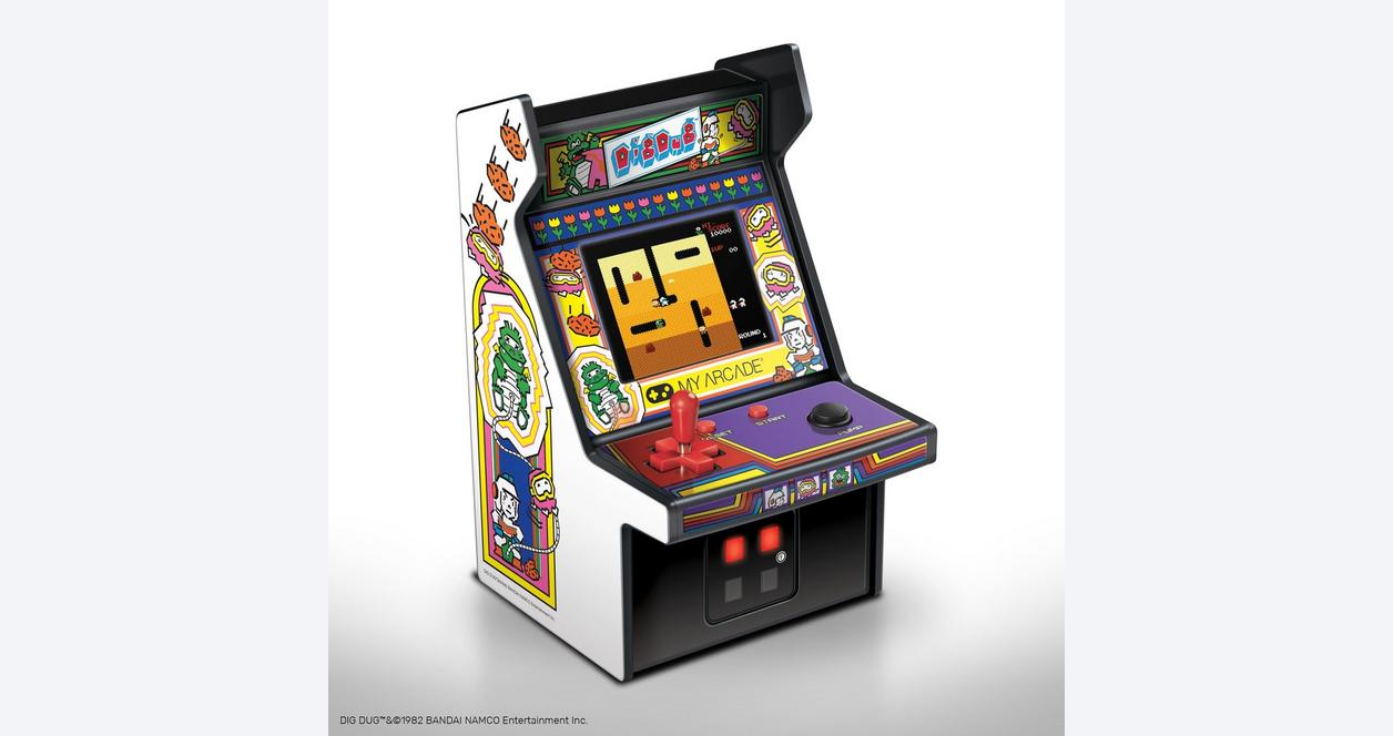 Dig Dug Retro Micro Player