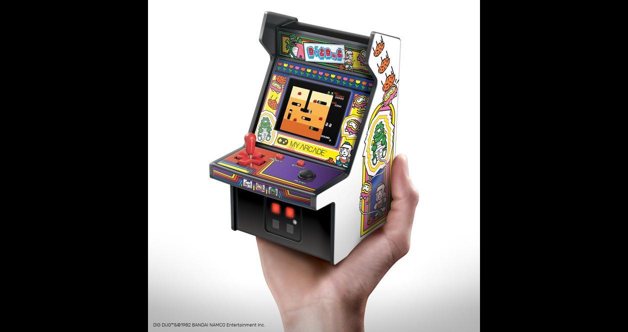 Dig Dug Retro Micro Player