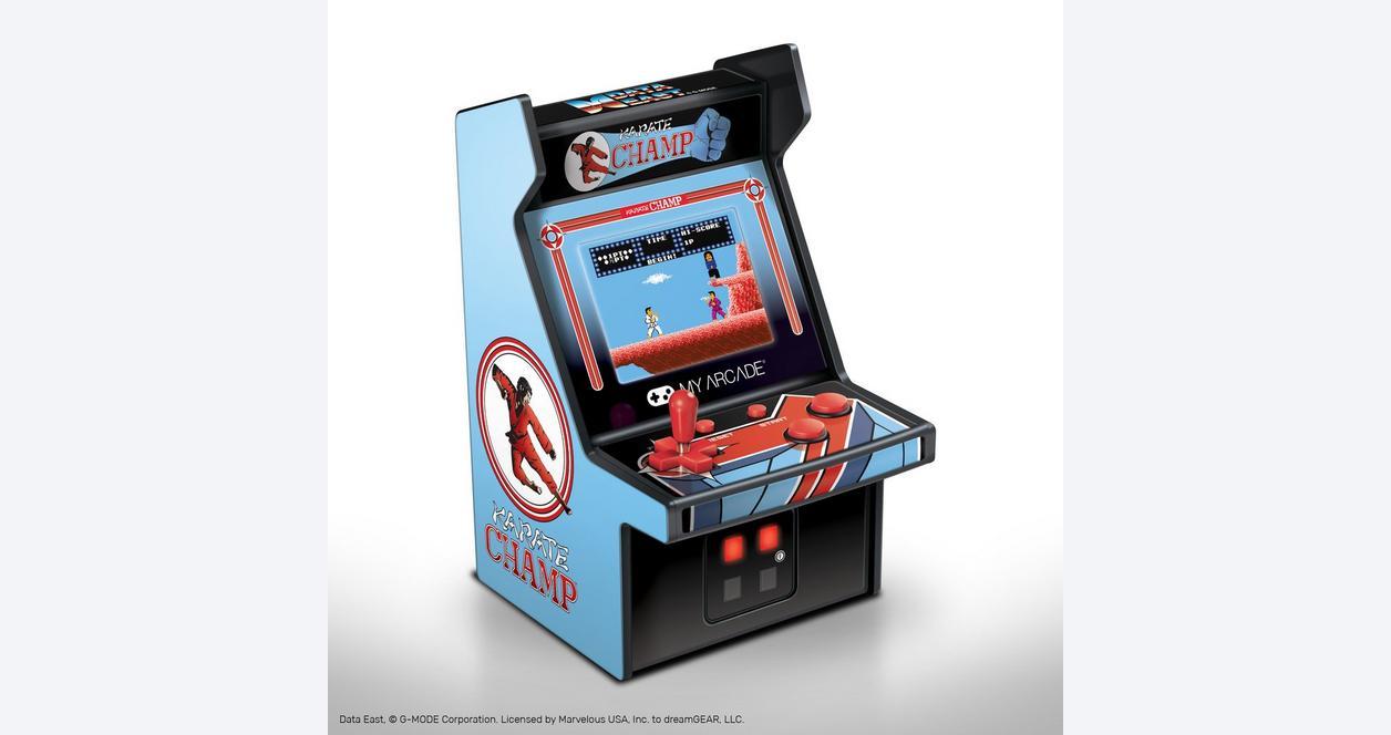 Karate Champ Retro Micro Player