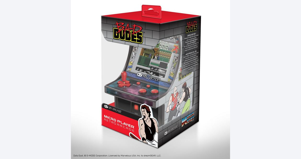 Bad Dudes Retro Micro Player