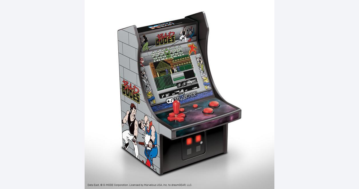 Bad Dudes Retro Micro Player