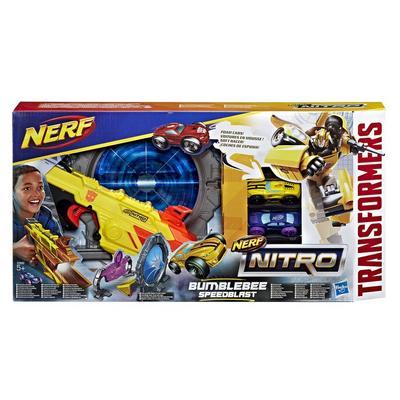 Nerf Nitro Bumblebee Speedblast - Only at GameStop