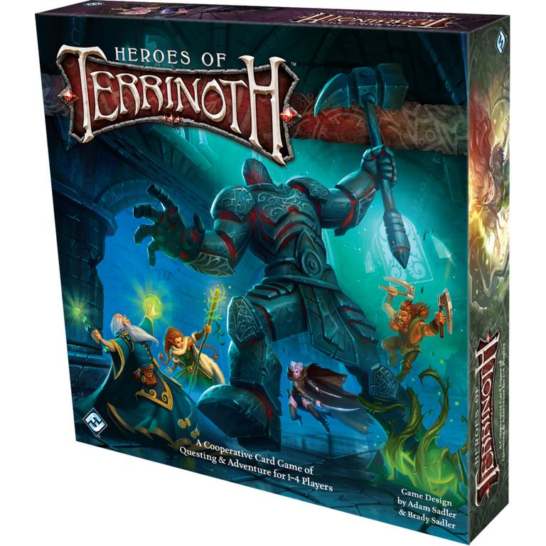 Heroes of Terrinoth Cooperative Card Game