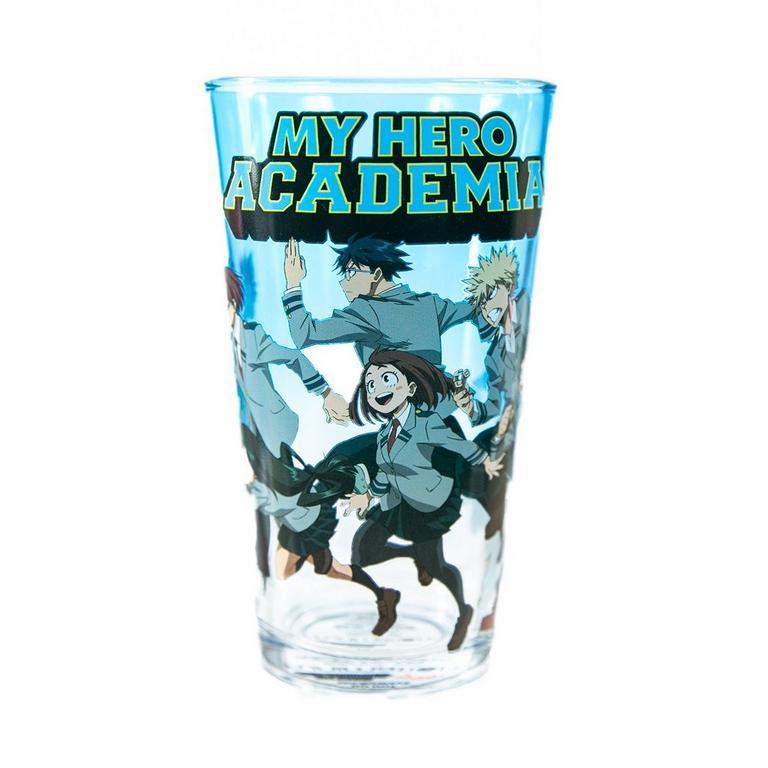 My Hero Academia Students Pint Glass