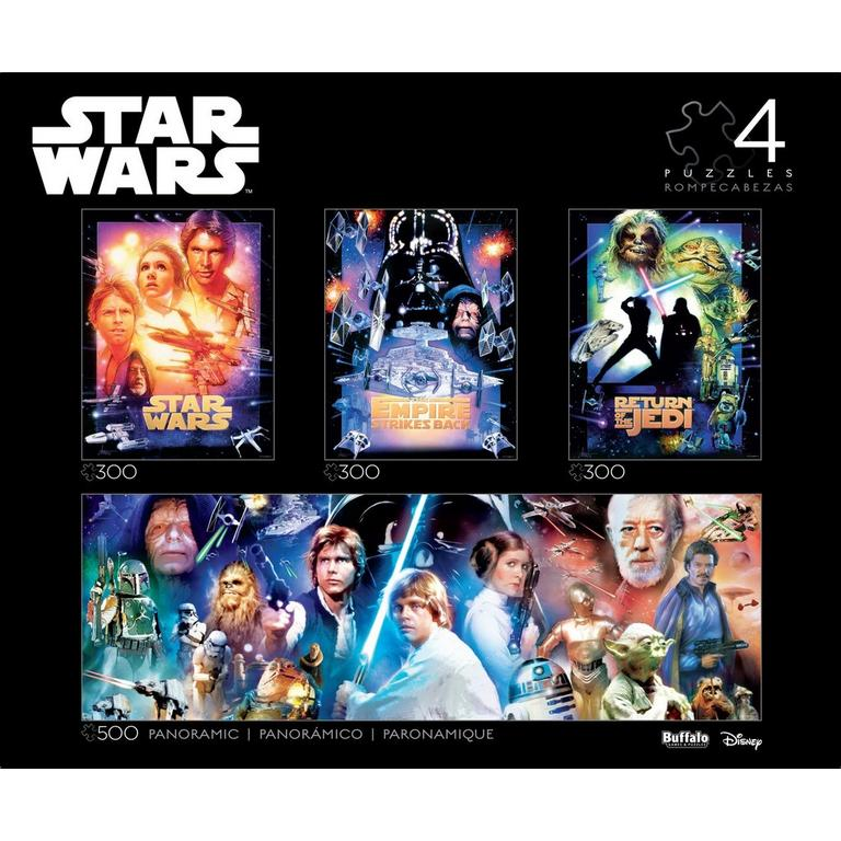 4 in 1 Star Wars Multipack Puzzle Collector's Edition