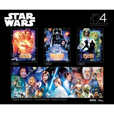 Star Wars Collector's Edition 4-in-1 Multipack Puzzle