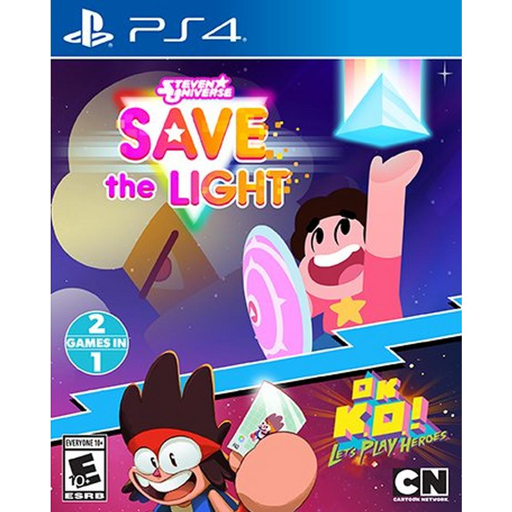 Steven Universe Save the Light & OK K O ! Let's Play Heroes Combo    PlayStation 4   GameStop
