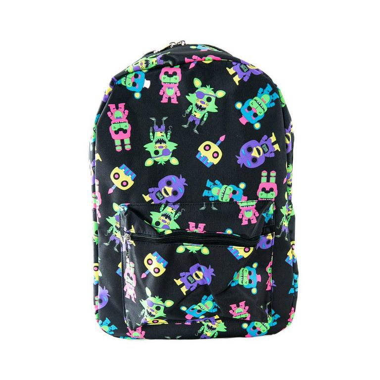 Five Nights at Freddy's Blacklight Backpack