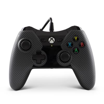 Xbox One Black Carbon Fiber Wired Controller