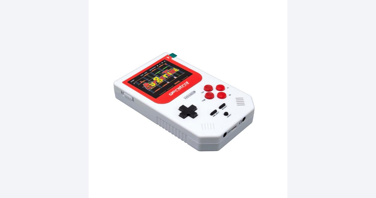 Go Retro White and Red Portable System