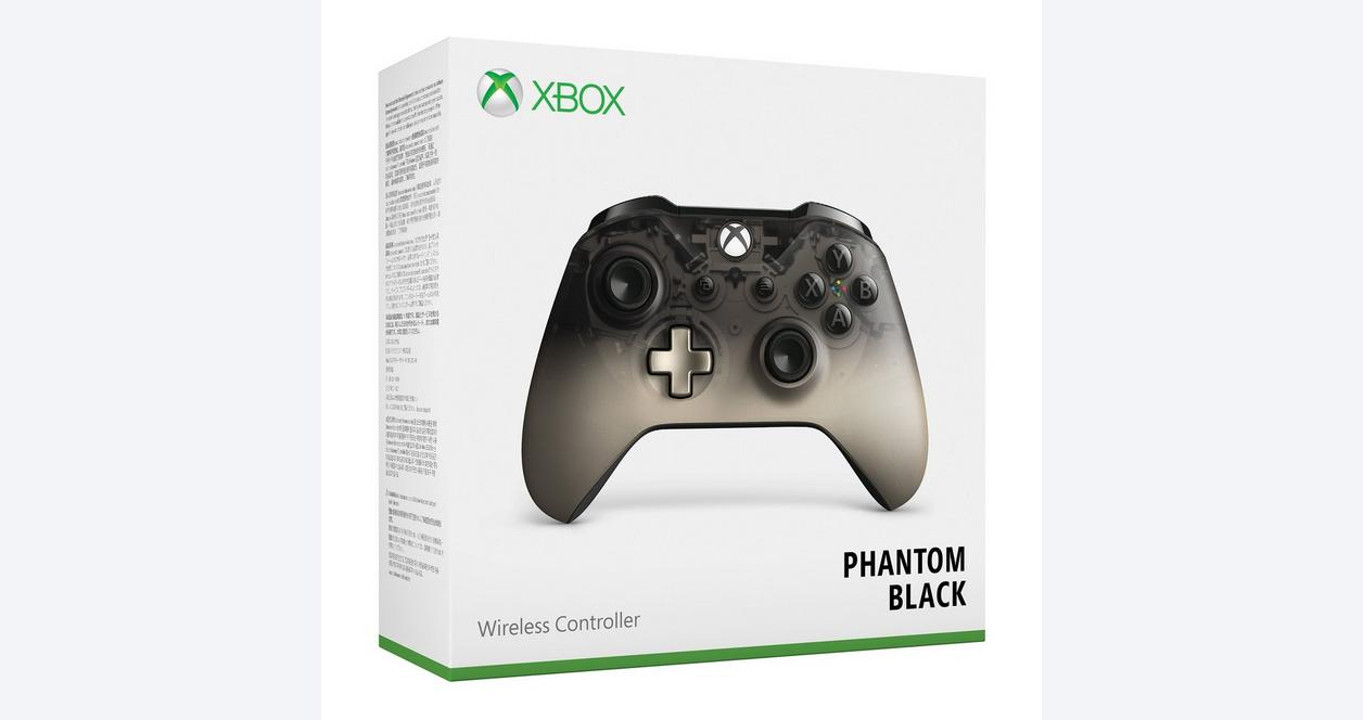 Microsoft Xbox One Phantom Black Special Edition Wireless Controller
