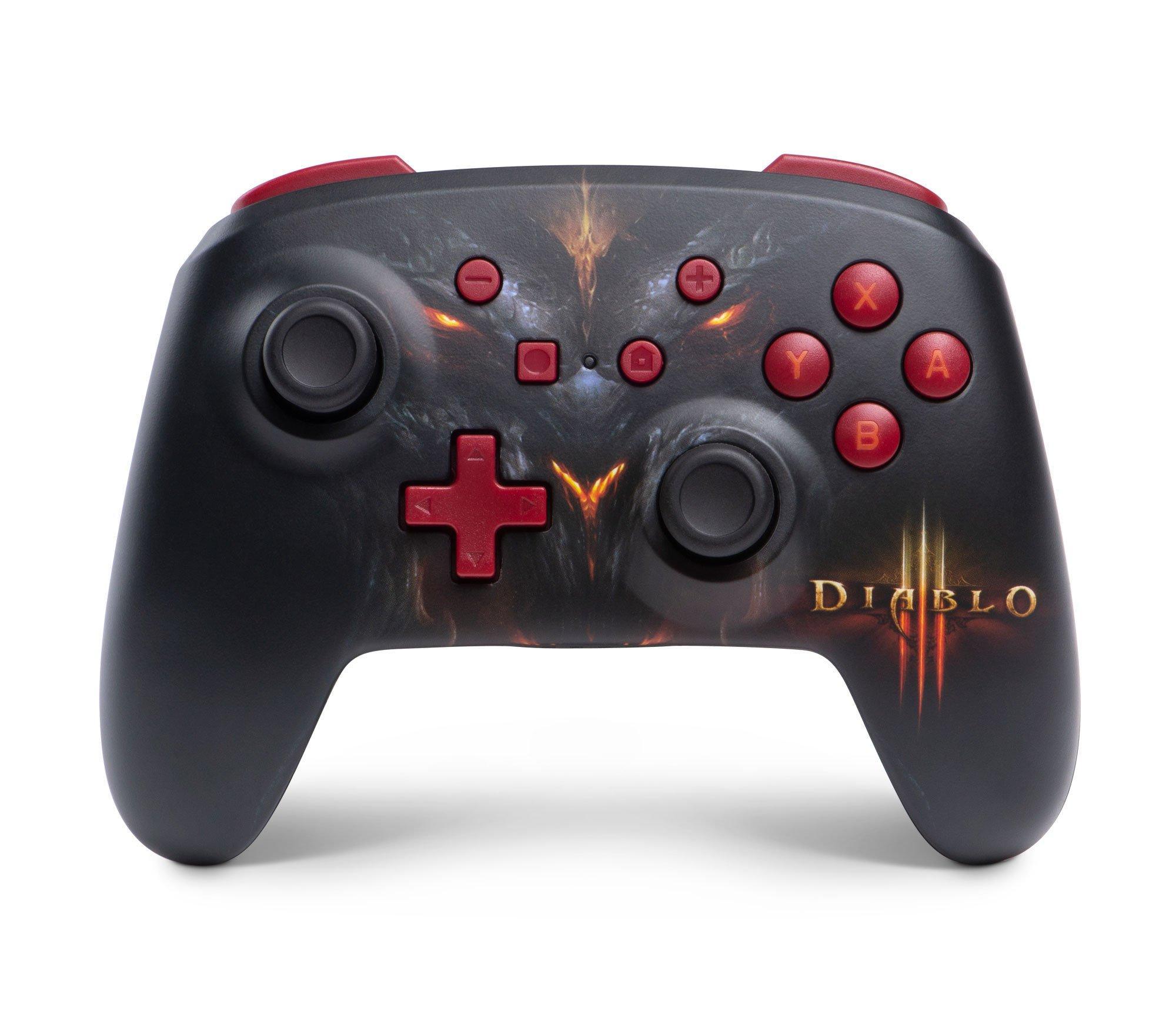 Diablo Iii Enhanced Wireless Controller For Nintendo Switch Only At Gamestop Nintendo Switch Gamestop