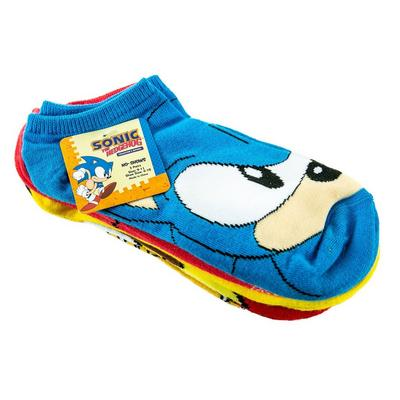 Sonic The Hedgehog Socks 5 Pair