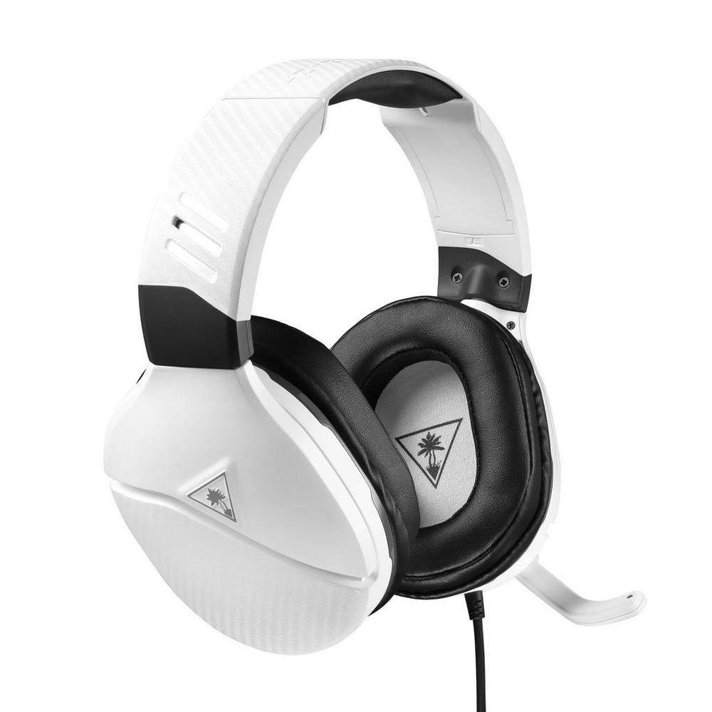 Turtle Beach Recon 200 Amplified Gaming Headset - White | <%Console%> |  GameStop