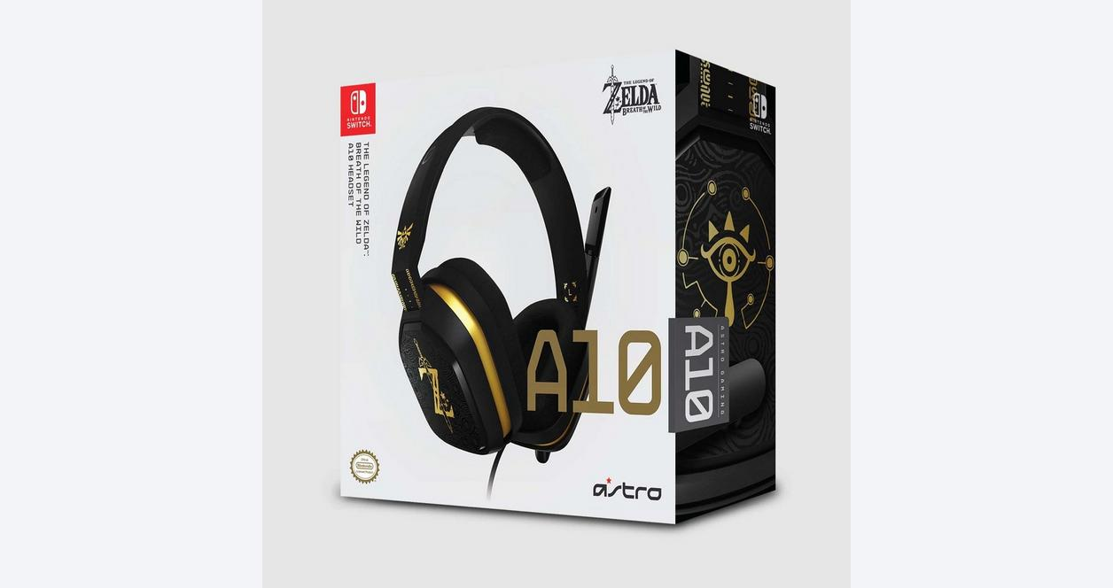Nintendo Switch A10 The Legend of Zelda: Breath of the Wild Wired Gaming Headset