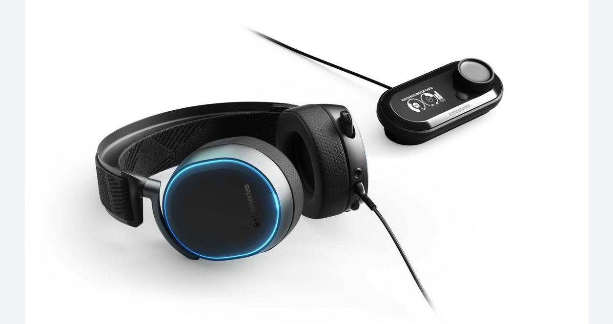 PlayStation 4 Arctis Pro and GameDAC Hi-Res Gaming Headset Black