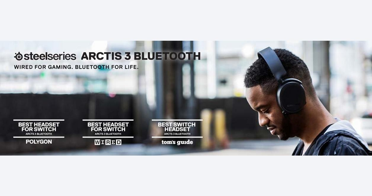 Arctis 3 Bluetooth Edition Wireless Gaming Headset
