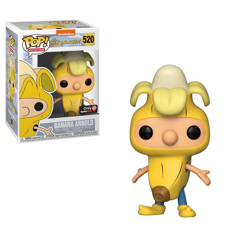 POP! Animation: Hey Arnold! Banana Arnold Only at GameStop