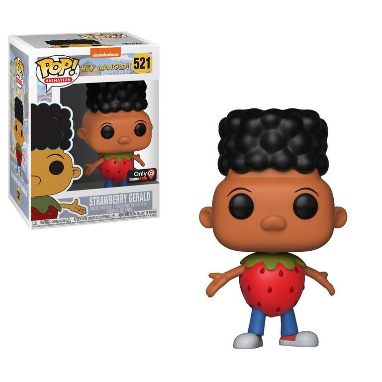 POP! Animation: Hey Arnold! Strawberry Gerald Only at GameStop