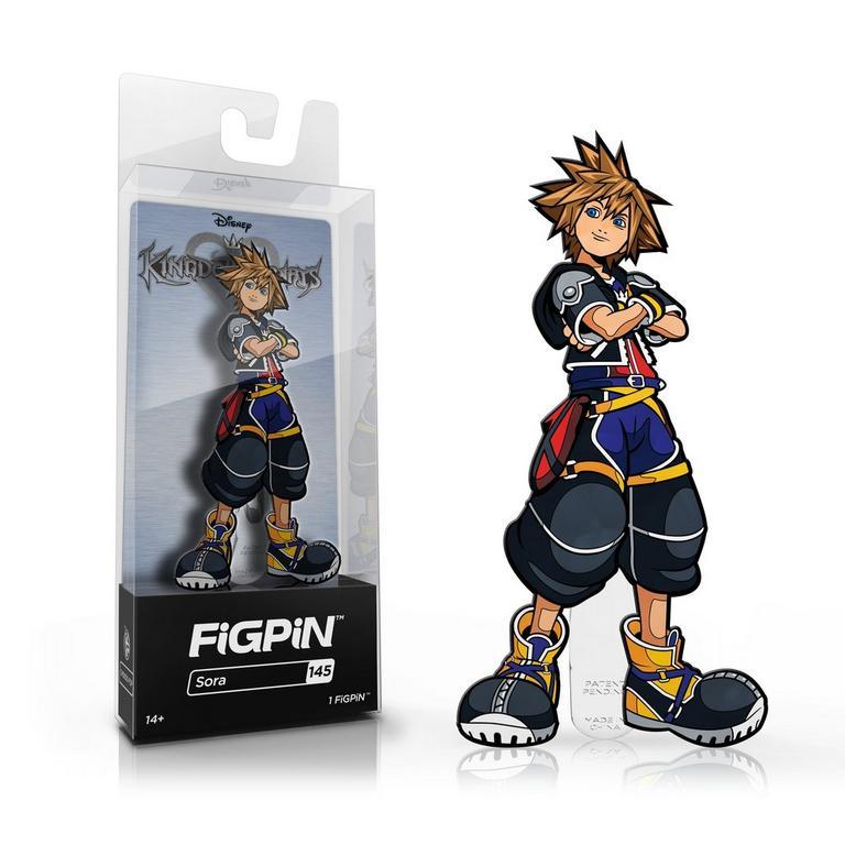 Kingdom Hearts Sora FiGPiN