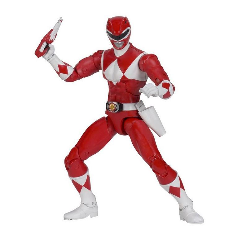 Power Rangers Legacy 6 inch Figure: Mighty Morphin Power Rangers - Red Ranger