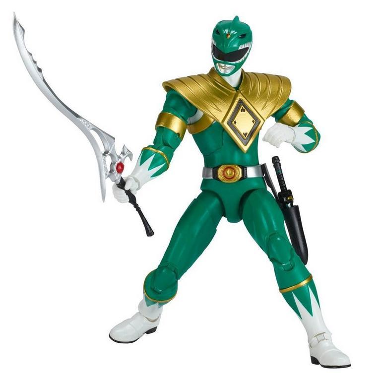 Power Rangers Legacy 6 inch Figure: Mighty Morphin Power Rangers - Green Ranger