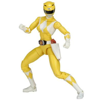 Power Rangers Legacy 6 inch Figure: Mighty Morphin Power Rangers - Yellow Ranger