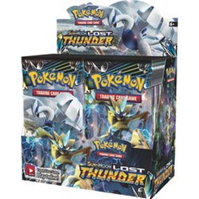 Pokemon Trading Card Game: Sun & Moon Lost Thunder Booster Box 36